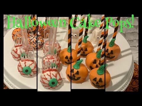 How To Make Halloween Cake Pops! | Easy Halloween Cake Pops!