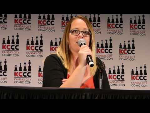 Carrie Henn Newt from Aliens  panel Kansas City Comic Con Sat 832016