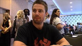 Arrow Stephen Amell Season 6 Interview (Comic Con)