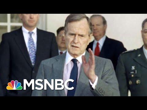 Remembering George H.W. Bush 41 Who Wished For A 'Gentler, Kinder Nation' | Velshi & Ruhle | MSNBC