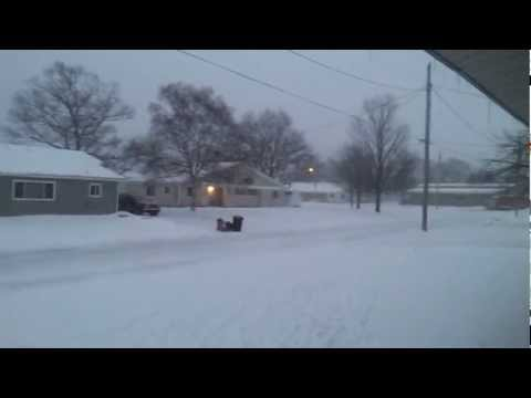 kincheloe michigan snow