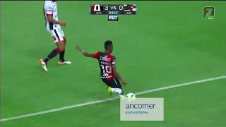 Atlas vs Lobos BUAP 3-1, J-4, Clausura 2019, Liga MX