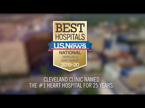 Cleveland Clinic Ranked No. 1 For Heart Care For 25 Years By U.S. News And World Report