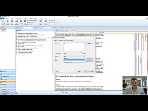 Ingesting  quot Internal quot  Source Contents training Webinars from nVivo