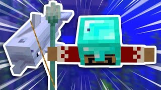 Light Speed Swimming In Minecraft Survival (#20)