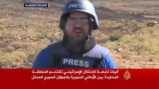 انتهاكات إسرائيلية في سوريا