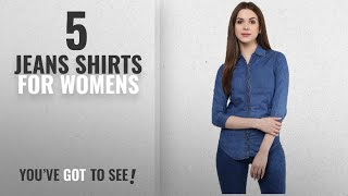 Top 10 Jeans Shirts For Womens [2018]: Mayra Women