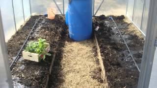 видео Система капельного полива в теплице