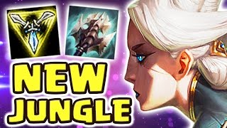THIS IS ABSOLUTELY NOT FAIR !! NEW BEST JUNGLER EVER (25 KILLS FULL AD CAMILLE JUNGLE) - Nightblue3