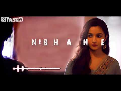 Jeene Ki Wajah   Raazi   Atif Aslam   Shreya Ghoshal   Alia Bhatt   Latest Song   YouTube