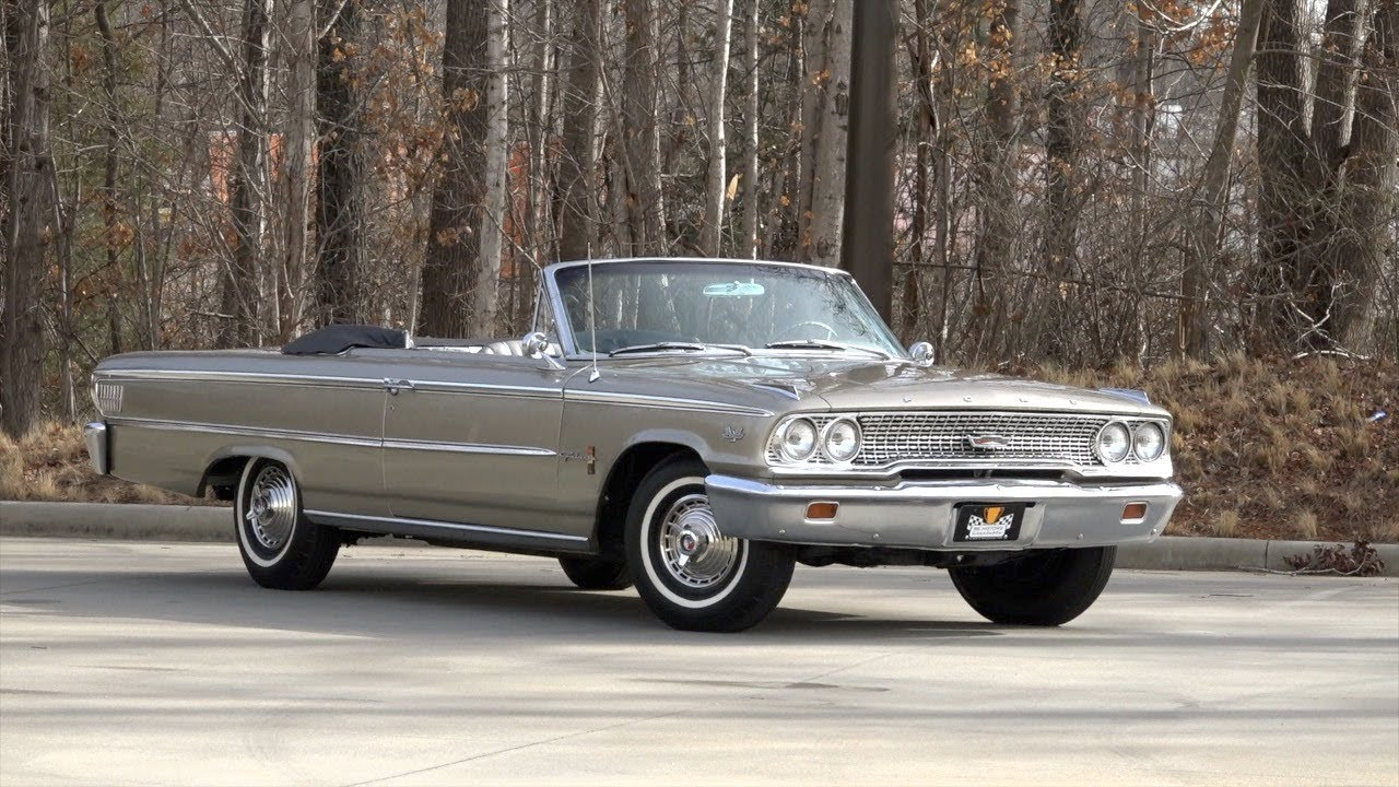 1963 ford galaxie xl for sale 136123