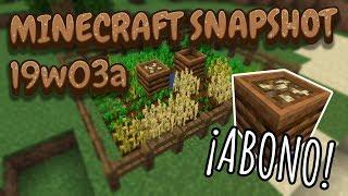 Minecraft Review 19w03a [ABONO en MINECRAFT]