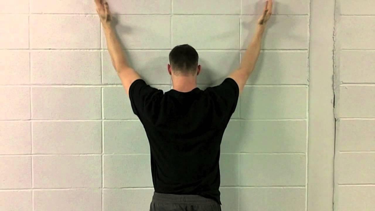 Forearm Wall Slides - YouTube