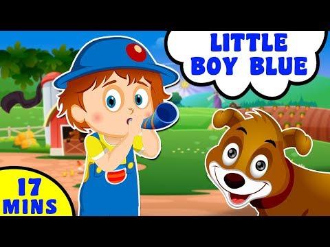 Little Boy Blue   Kids Songs and Popular Nursery Rhymes   Baby Hazel Nursery Rhymes