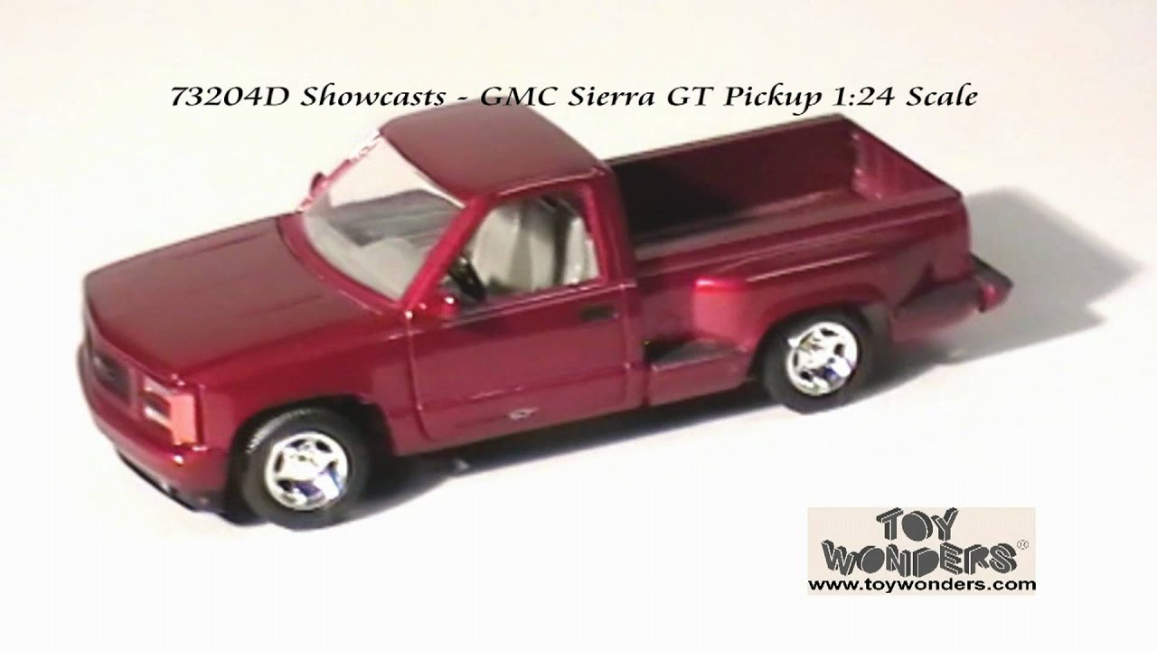 gmc Sierra GT Pickup by Showcasts 1/24 scale diecast model