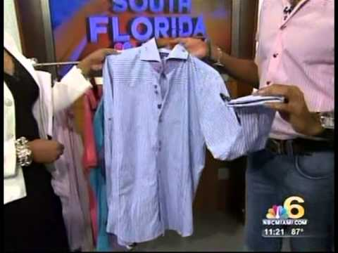 Bogosse - Men's High End Fashion - Pioneers in America -Story on South Florida Morning Show - NBC 6