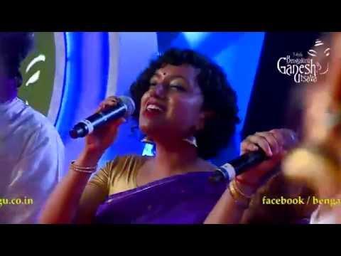 'Manmohini' by Berklee Indian Ensemble,USA Featuring Vijay Prakash @ 54th Bengaluru Ganesh Utsava