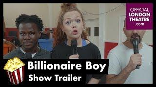 Billionaire Boy in rehearsal