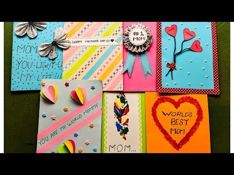 easy-greeting-card-ideas-|-diy-mothers-day-cards-|-creatinng-crazy