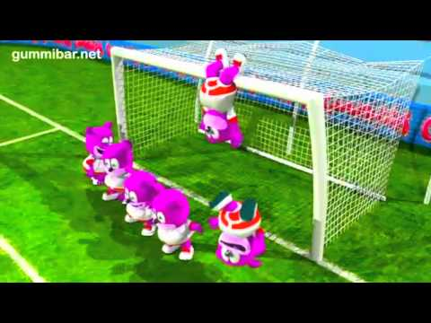 Gummibär  Go For The Goal  World Cup Soccer Sg English Funny Gummy Bear USA United States