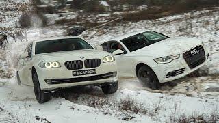 ГЕЛИК поспорил с AUDI A6 и BMW 5  на БЕЗДОРОЖЬЕ