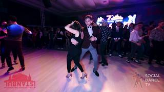 Iskender Can & Isabell Boyaci - Salsa social dancing | Istanbul Int. Dance Festival 2018