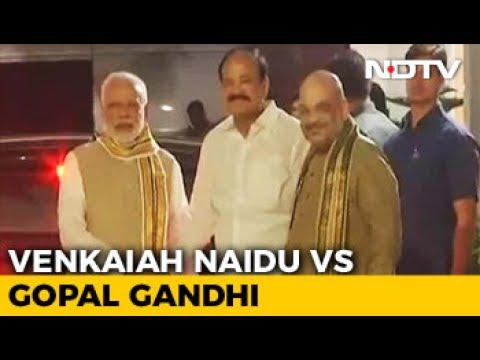 For Vice President, BJP Picks Venkaiah Naidu vs Gopalkrishna Gandhi