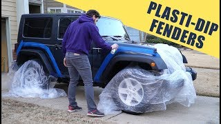 How To Plasti-Dip Jeep Fenders