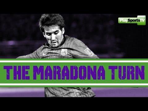 Soccer: The Maradona Turn