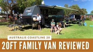 FAMILY CARAVAN REVIEW: Australis Coastline 20
