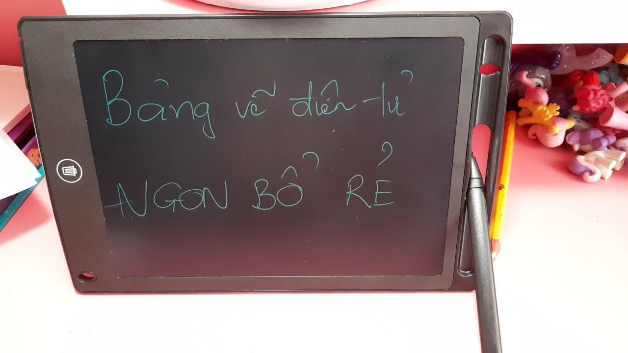 Mở hộp & đánh giá BẢNG VẼ ĐIỆN TỬ NGON BỔ RẺ dành cho bé – Review on cheap electronic DRAWING BOARD