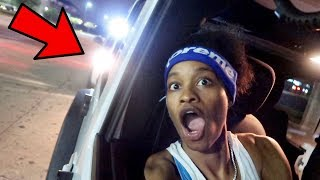 ME AND QUEEN GOT PULLED OVER BY THE POLICE....
