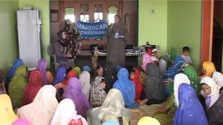 Water and sanitation in Pakistan - Project overview 2011 - Handicap International