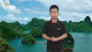 Ghi hình trường quay - MC Gia Long - Lớp MC nhí N15 Đông Anh