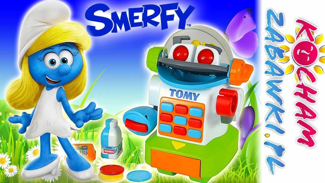 Smerfy & Pan Robokasjer • Smerfetka na zakupach • Jakks Pacific & Tomy • bajki po polsku