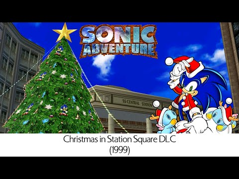 Sonic Adventure DLC - Christmas in Station Square '99