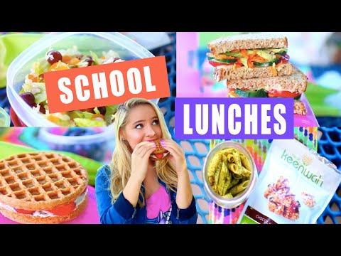 DIY Healthy School Lunch Ideas!