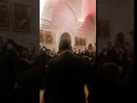 Belem Missa de Natal -  Saida do Presidente Mahmoud Abbas