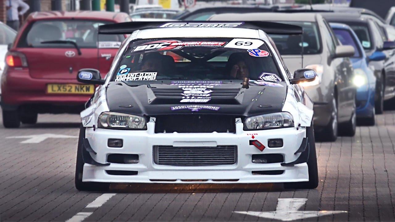 Japanese Cars Leaving A Car Show May YouTube - Car show cars