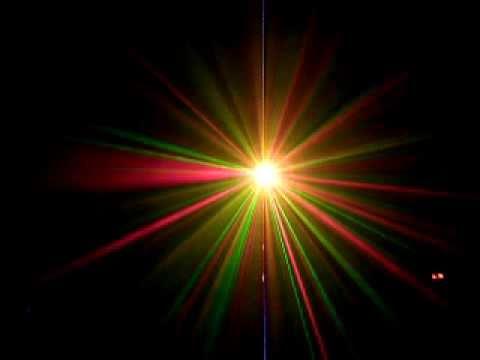 Đèn laser chấm bi nhiều hiệu ứng trang trí quán cà phê chuyên nghiệp - Den san khau