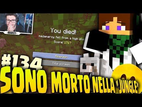 """SONO MORTO NELLA """"JUNGLE"""" - Minecraft VANILLA ITA EP.134"""
