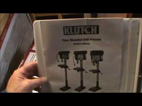 klutch-model-49383-13-inch-16-speed-3/4-horse-standing-drill-press-review-2017