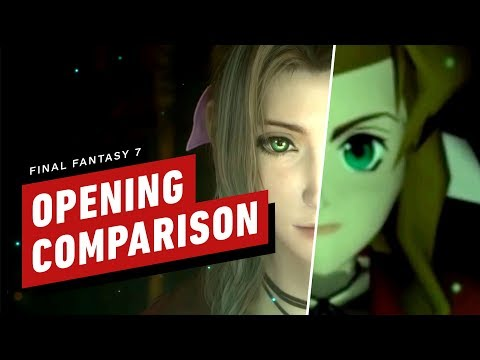 Final Fantasy 7 - Opening Comparison