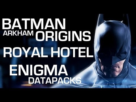Batman: Arkham Origins Enigma Datapacks - Gotham City Royal Hotel