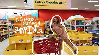 SCHOOL SUPPLY SHOPPING VLOG 2019
