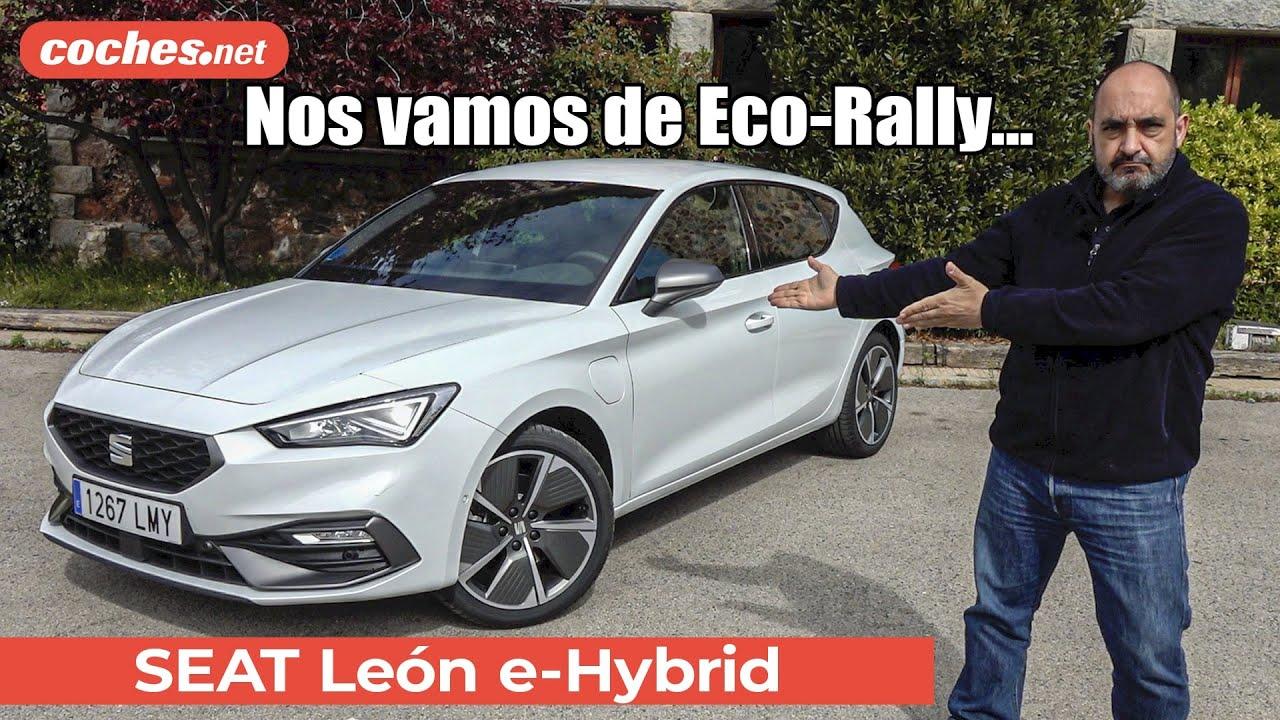 Download Seat León e-Hybrid en el Eco-Rally Castellón 2021   Prueba / Test / Review en español   coches.net