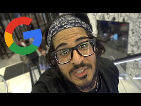 SNEAKING INTO GOOGLES OFFICE! - Youtube Space London