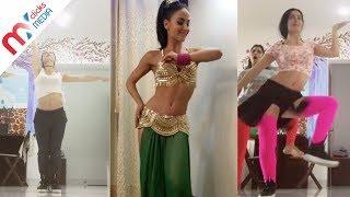 Elli Avram Hottest Belly Dance Selfie Video | Celeb Zone
