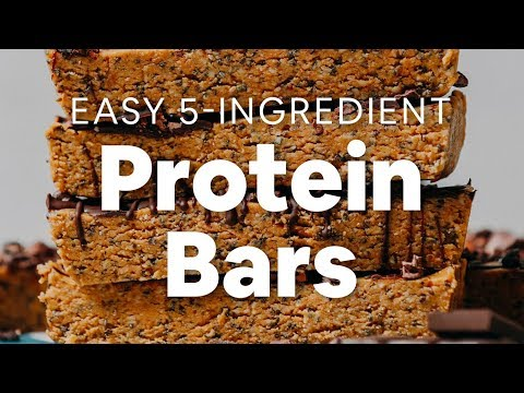 Easy 5-Ingredient Protein Bars (Peanut Butter Chocolate!) | Minimalist Baker Recipes