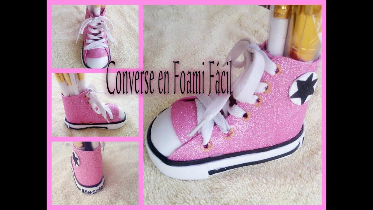 En Foami Facil Converse En Facil Converse En Foami Diy Diy Diy Converse pGzSUMqV